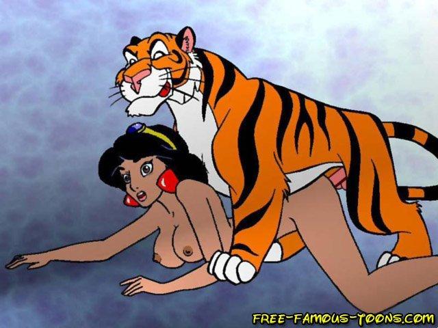 Секс Пародия Крадущийся Тигр