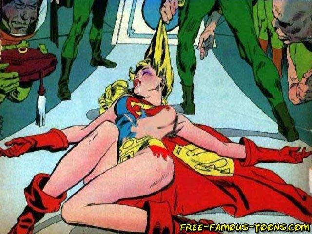 Super girl sex toon