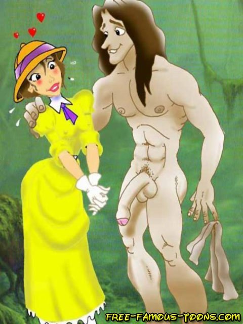 Tarzan and jane haveimg sex apologise, but
