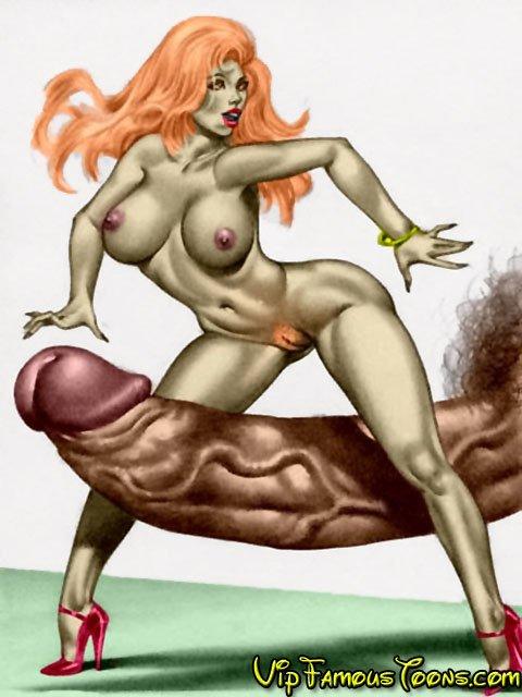 Порно мультик кин конг